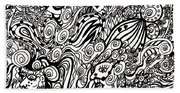 Blowing In The Breeze Beach Towel