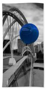 Blue Balloon Beach Towel