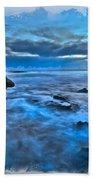 Blue Dawn Beach Towel