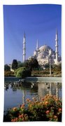 Blue Mosque, Sultanahmet, Istanbul Beach Towel