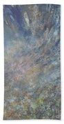 Blue Nebula #1 Beach Towel