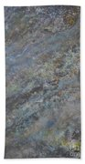 Blue Nebula #2 Beach Towel