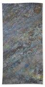 Blue Nebula #2 Beach Sheet