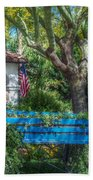 Blue Wagon Beach Towel