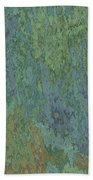 Bluegreen Stone Abstract Beach Towel