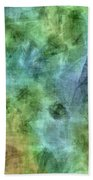 Bluetone Abstract Beach Towel
