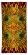 Blumen Art Beach Towel