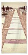 Boardwalk Beach Towel by Joana Kruse