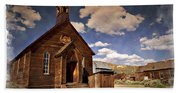Bodie Church - Impressions Beach Towel