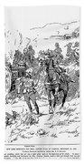Boer War, 1899 Beach Towel