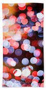 Bokeh Beach Towel