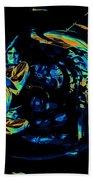 Tb Cosmic Swirl Beach Towel