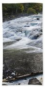 Bond Falls Upper 1 Beach Towel
