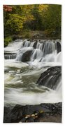 Bond Falls Upper 4 Beach Towel