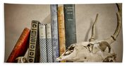 Bone Collector Library Beach Towel