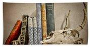 Bone Collector Library Beach Sheet
