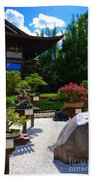 Bonsai Garden Beach Towel