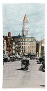 Boston: Bowdoin Square Beach Towel