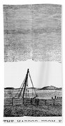 Boston Harbor, 1776 Beach Towel