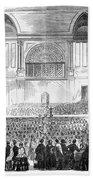 Boston: Music Hall, 1856 Beach Towel