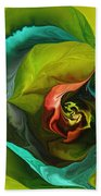 Botanical Fantasy 011512 Beach Towel