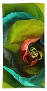 Botanical Fantasy 011512 Beach Towel