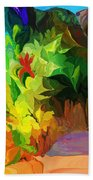 Botanical Fantasy 091612 Beach Towel