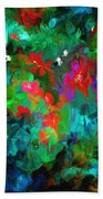 Botanical Fantasy 103112 Beach Towel