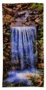 Botanical Garden Falls Beach Towel