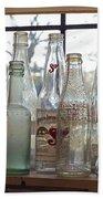 Bottles On The Shelf Beach Towel