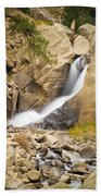 Boulder Colorado Boulder Falls Beach Towel