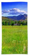 Boulder Park View Beach Towel