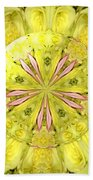 Bouquet Of Roses Kaleidoscope 12 Beach Towel