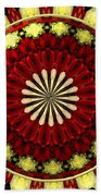 Bouquet Of Roses Kaleidoscope 5 Beach Towel