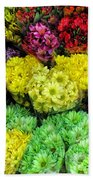 Bouquets  Beach Towel