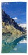 Bow Lake,alberta,canada Beach Towel