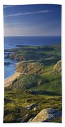 Boyeeghter Strand And Melmore Head Beach Towel