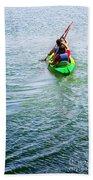 Boys Rowing Beach Towel