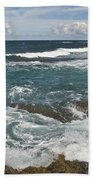 Breaking Waves 7919 Beach Towel
