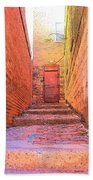 Old Stairs - Bisbee Az Beach Towel