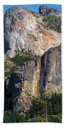 Bride At Yosemite Beach Towel