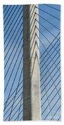 Bridge Abstract Beach Towel