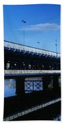 Bridge Across A River, Double-decker Beach Towel