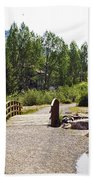 Bridge In Vail - Colorado Beach Towel