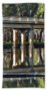 Bridge Over Ovens River 2 Beach Towel