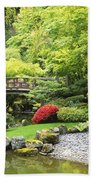 Bridge To Tranquility Beach Towel