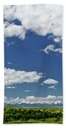 Bridger Mountain View Beach Towel