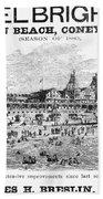 Brighton Beach Hotel, 1880 Beach Towel