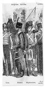 British Army, 1855 Beach Towel