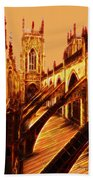British Christian Cathedral  Beach Towel